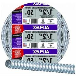 Southwire Alflex Rwa Flexible Conduit 1/2 X 100' Highly Flex