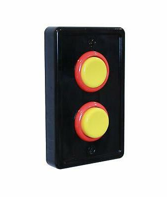 Arcade Light Switch Cover, Single Switch 1-Gang