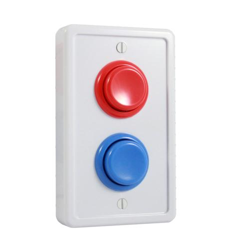 arcade light switch plate
