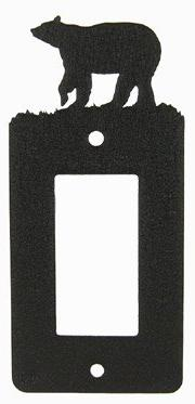 Bear GFI Rocker Light Switch Plate Cover