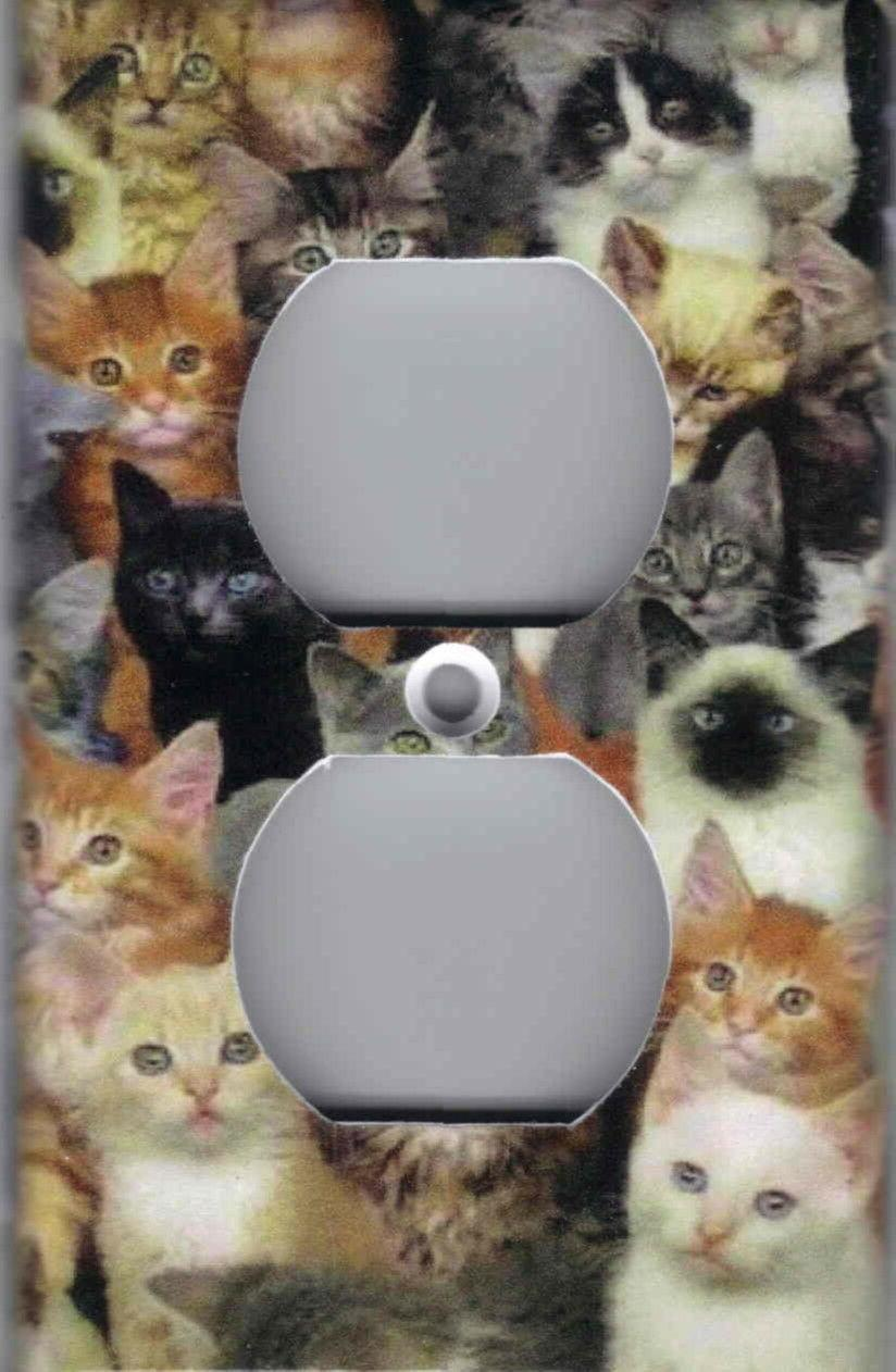 CATS, WALL SWITCH PLATES
