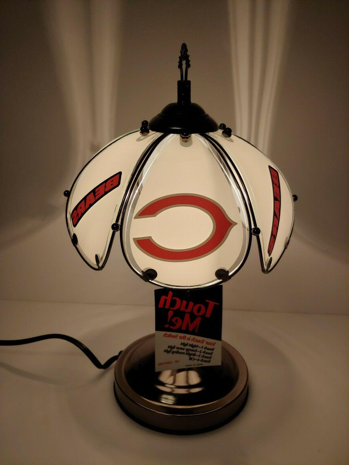 Chicago Bears Table/desk lamp desk accent sports 3 way Touch