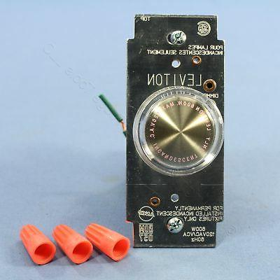 clear single pole lighted rotary