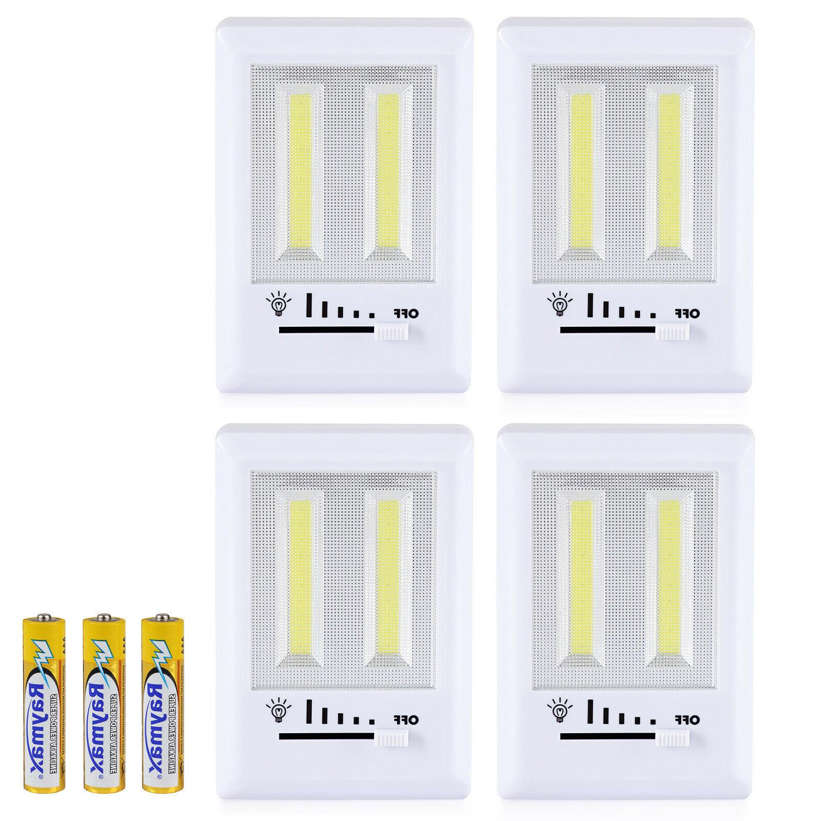 DEWENWILS Dimmable COB LED Battery Closet Light, Battery  Op