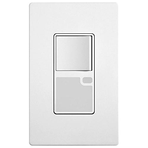TOPGREENER Combination Decorator Light Switch LED Guide Ligh