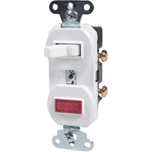 combination grounding single pole switch
