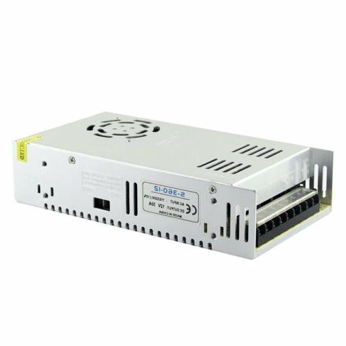 DC12V 30A 360W Power Supply Driver Regulated Switch For LED