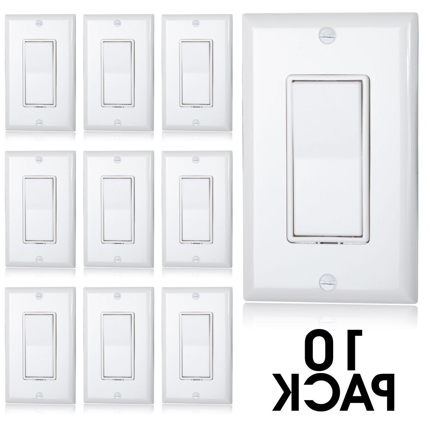 Maxxima 3 Decorative Wall Plates Included