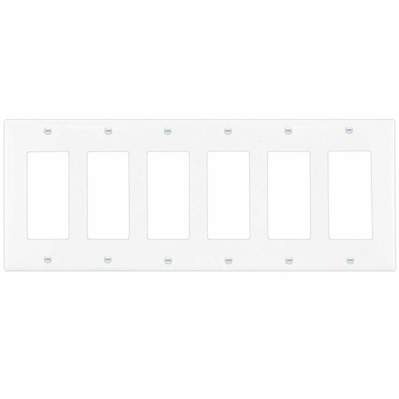 decorator light switch or receptacle outlet wall