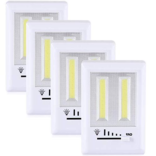 dimmable cob battery closet light