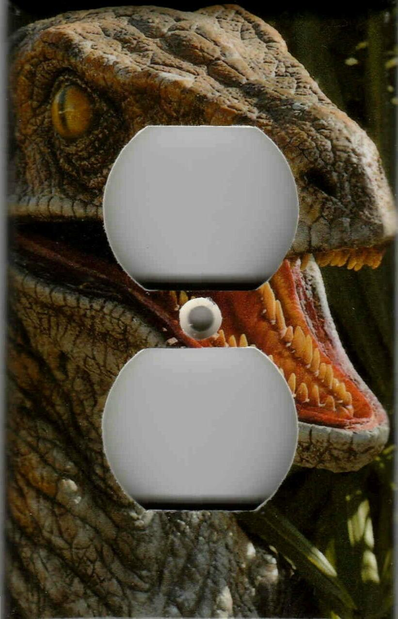 DINOSAUR HOME WALL DECOR LIGHT SWITCH OR