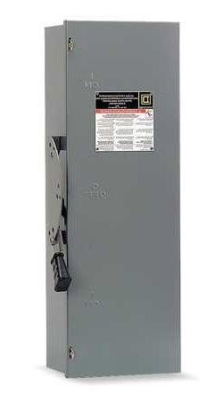 100 Amp 240VAC Double Throw Safety Switch 3P