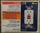 LEVITON GFTR1-R3W GFI 15A TAMPER RESISTANT WHITE 3-PACK NEW