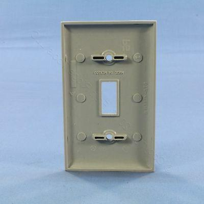 Pass Seymour Gray 1G Light Switch Cover Wallplate Switchplate SP1-GRY