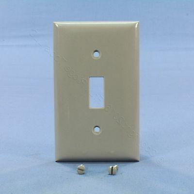 gray 1g toggle light switch cover wallplate
