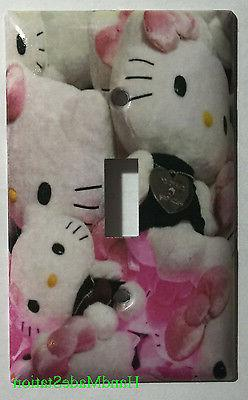 Hello Kitty Pillow Toys Light Switch Power Outlet wall Cover