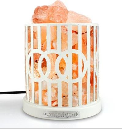 himalayan rock healthy salt lamp