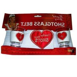 Hospital Honey Shot Glass Belt Costume Accessory