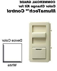 Leviton IPQFK-W Color Change Kit IllumaTech Decora Style Qui