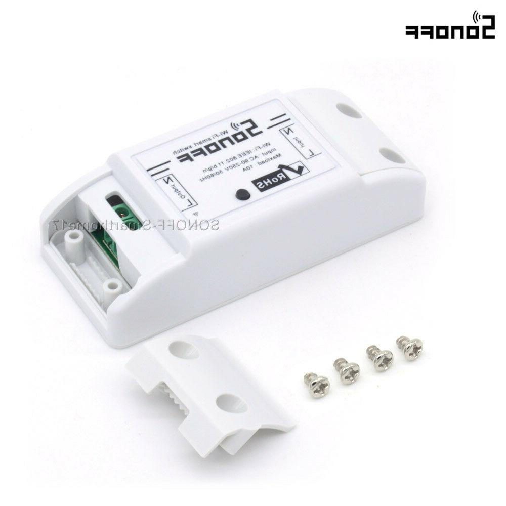 Sonoff Home WiFi Wireless Switch Fr Android Control