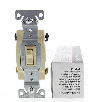 4way Ivry Quiet Toggle Switch