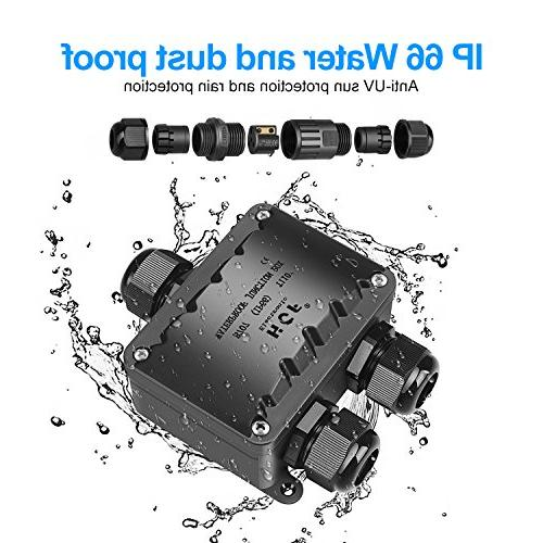 Junction Beauty Waterproof Larger External Electrical Coupler M20 Gland 10-14mm