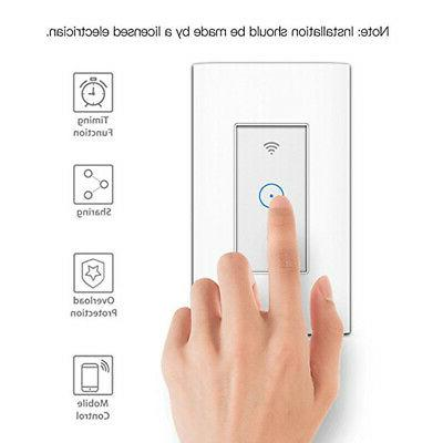 LED Smart WiFi Wall Switch Alexa App
