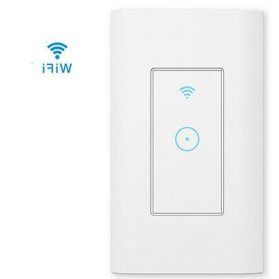 led light dimmer wifi wall touch switch