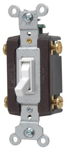 Legrand - Pass & Seymour 664WGCC12 Four Way Toggle Grounding