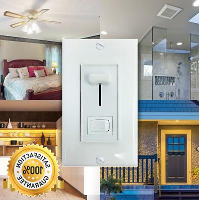 Light Dimmer Switch LED, Incandescent, or CFL Wall Plate
