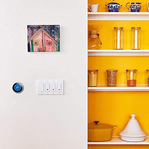 Wemo Light Switch 2-Pack, WiFi Enabled, Compatible with Assistant
