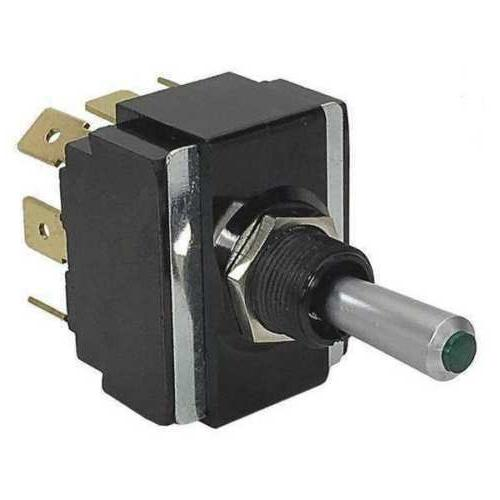 CARLING TECHNOLOGIES LT2561-603-012 Toggle Switch, DPDT, 8 C