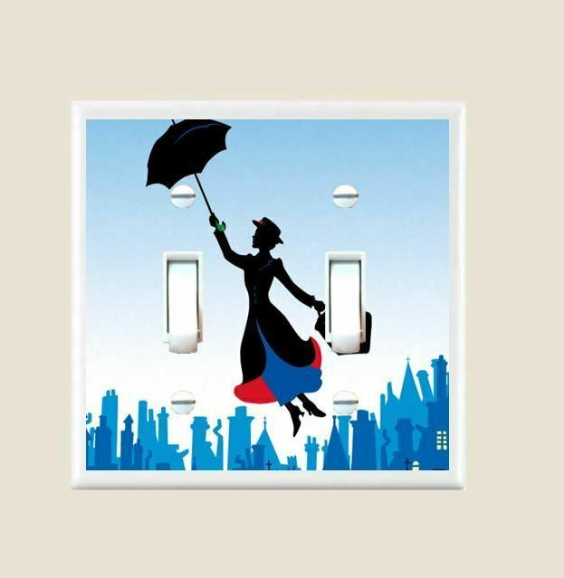 Mary Poppins Light Plate Cover Home Decor