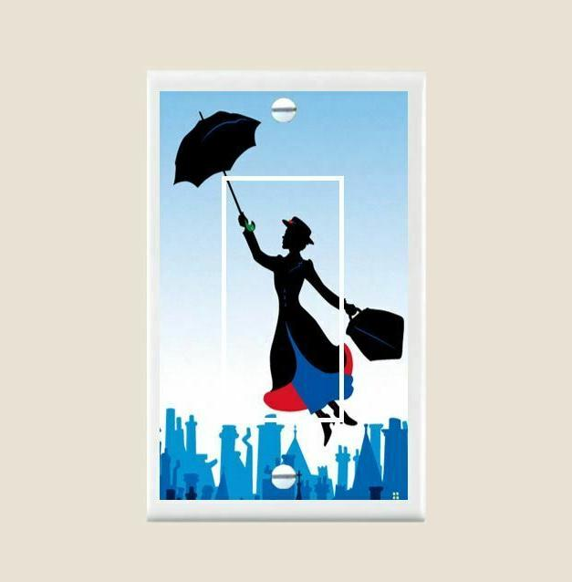 Mary Poppins Light Plate Home Decor