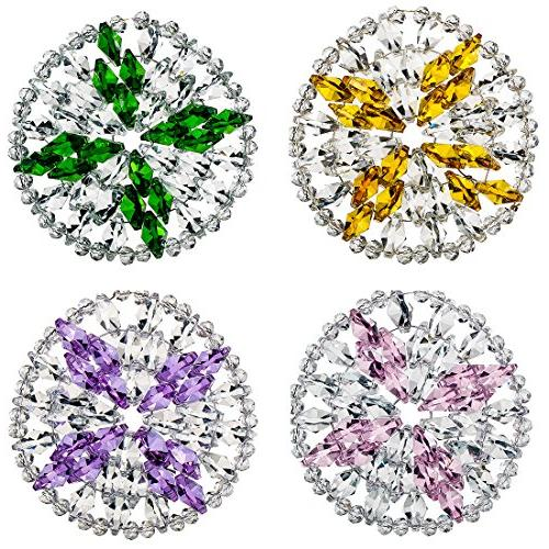 mixed crystal coasters round cup