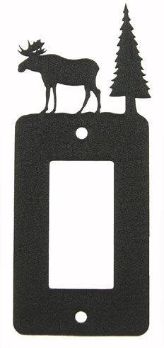MOOSE GFI Rocker Light Switch Plate Cover by Innovative Fabr