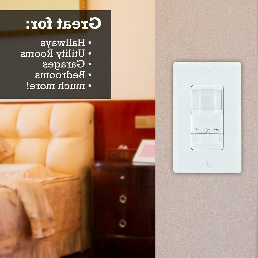GE Motion Light Switch 2-Pack, White