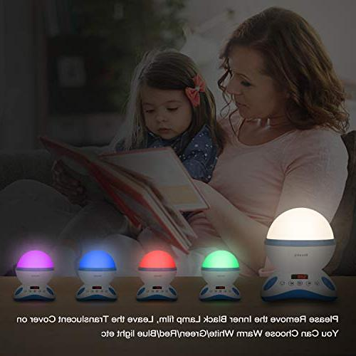 Star Night Light for with and Built-in 12 Light Songs Rotating Romantic Lighting for Birthday,Parties,Bedroom