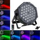 36W Par LED CAN Stage Light by IR Remote Control Party Disco