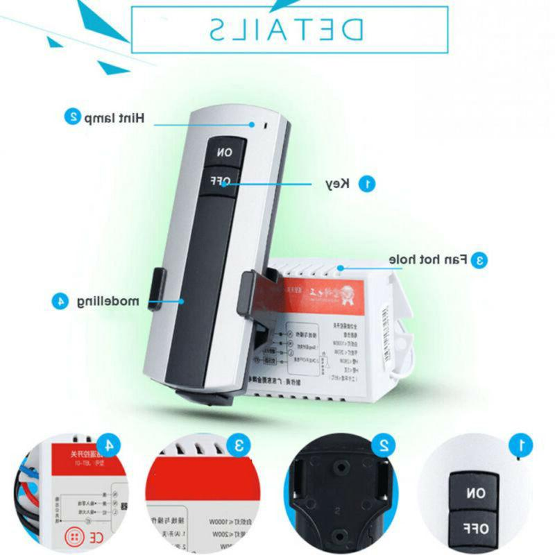 Wireless Lamp Remote Light Switch