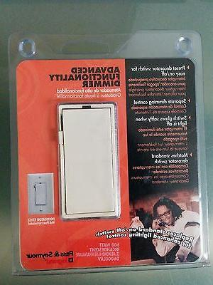 pass and seymour decorator switch incandescent dimmer