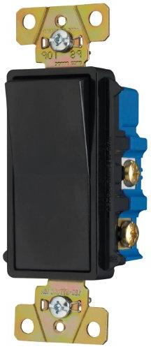 Pass & Seymour TM874BKCC6 Four-Way Decorator Switch 15-Amp 1