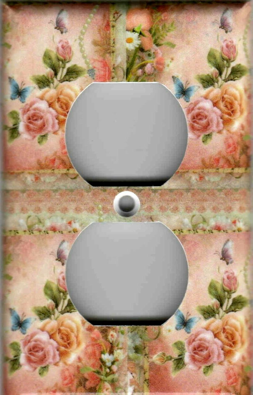 PINK AND SHABBY LIGHT PLATES OUTLETS