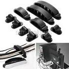 10Pc Plastic Wire Cable Cord USB Line Organizer Clips Ties F
