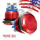 16mm RED Water Proof Starter Switch Boat Horn Momentary Butt