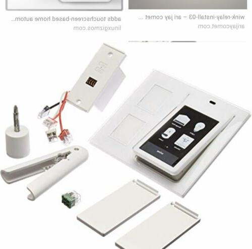 Wink Relay wall-mounted smart home controller - NEW! Never O