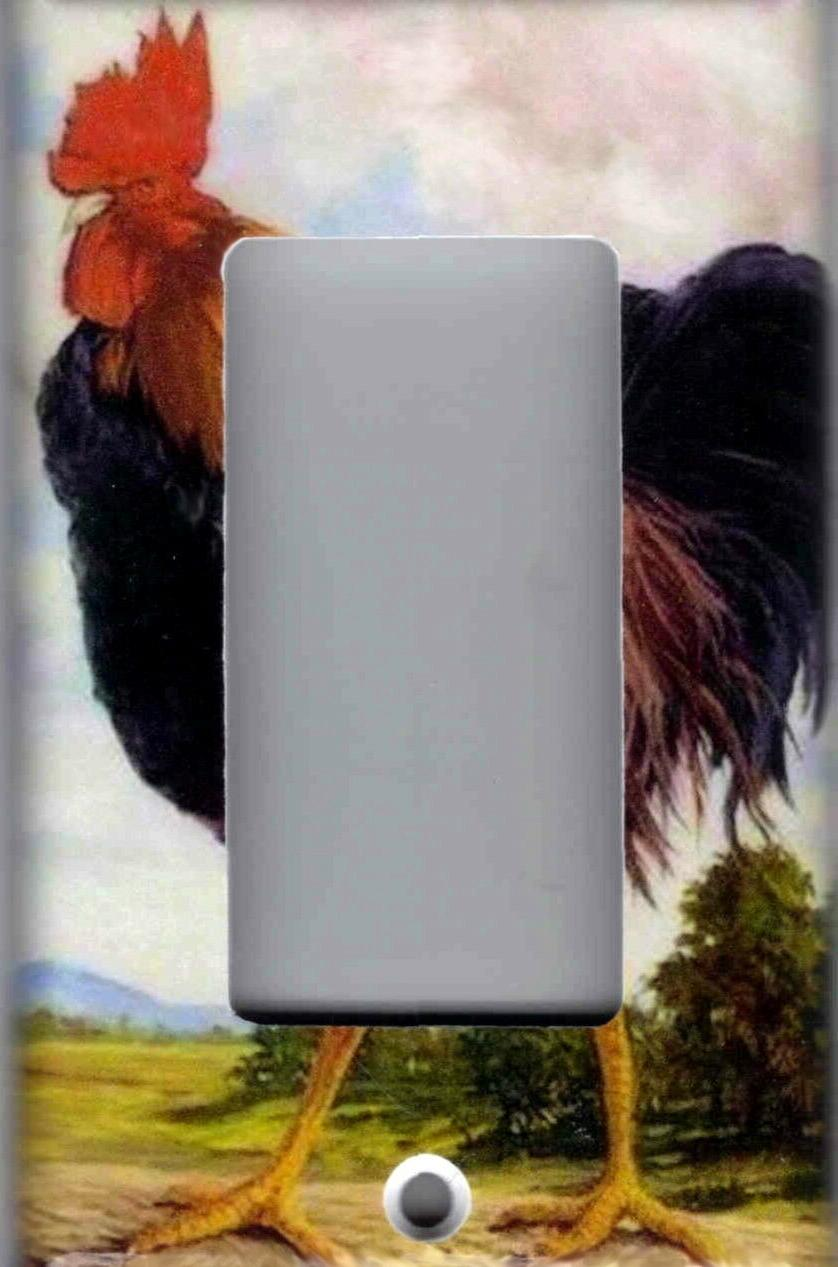 ROOSTER HOME LIGHT PLATES OUTLETS