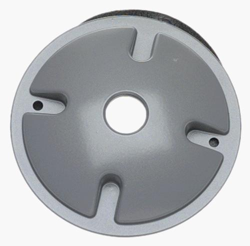 round lampholder cover gray
