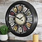 FirsTime 22.5 Inch Round Numeral Plaques Home Office Wall An