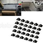30PCS Self Adhesive Car Tie Sticker Mounts Cable Clips Cable
